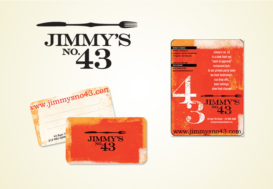 Jimmys No. 43 restaurant