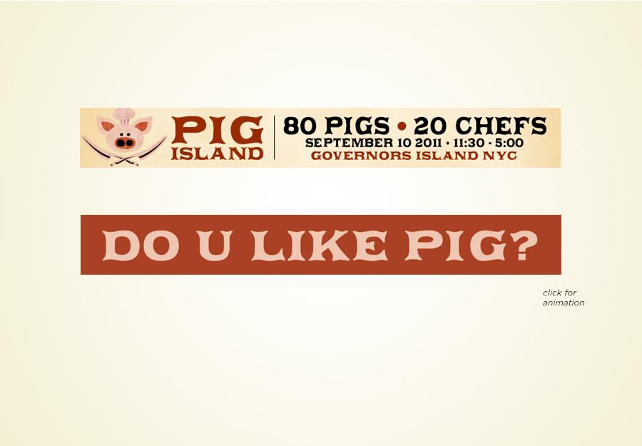 Pig Island web banner