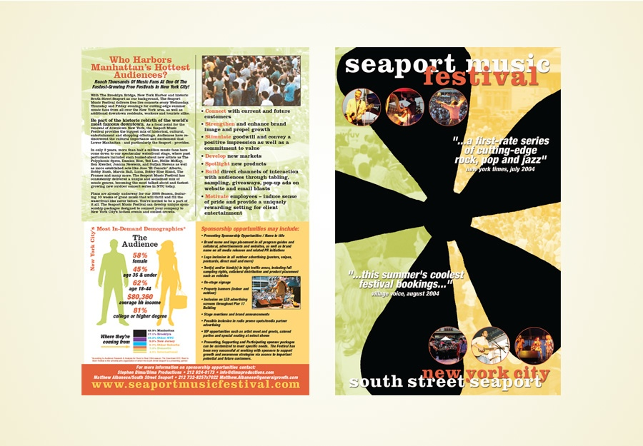 Seaport Music Festival sponsorship