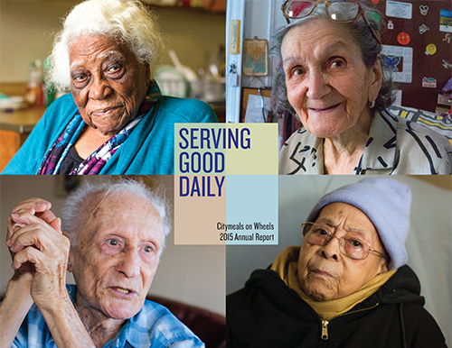 Citymeals on Wheels annual report design