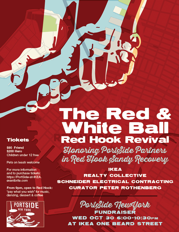 2013 event/ this year's event is Oct 28 at Hometown BBQ Red Hook.