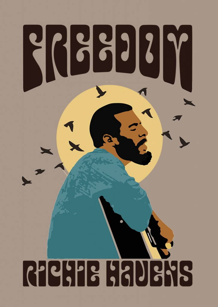 new Richie Havens Freedom shirt for 25th anniversary of Woodstock